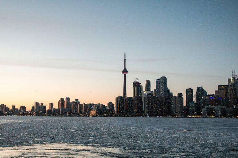 カナダトロントの写真 CNタワー