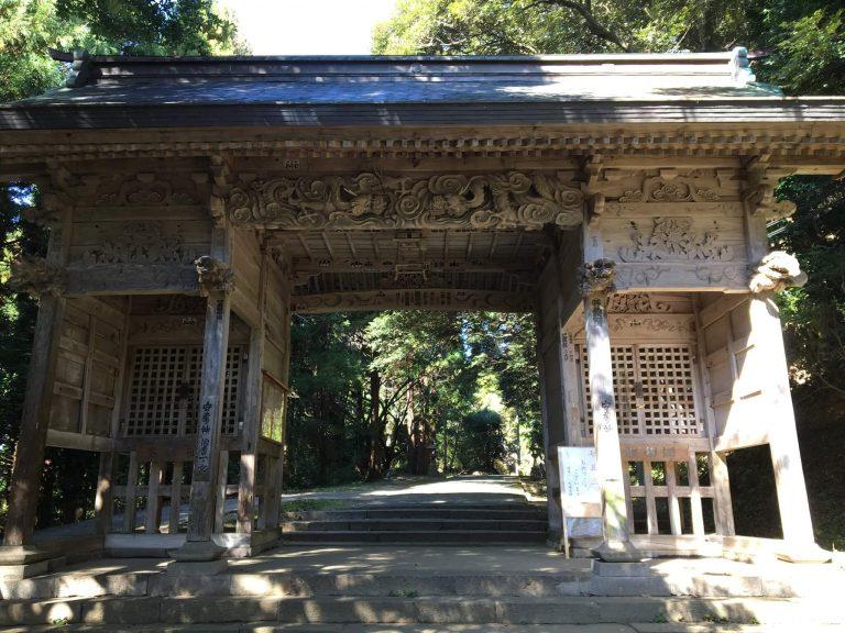 ローリーのコラム 倭文神社と出雲山展望台5